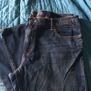 Men's barely worn bootcut jeans. 44 X 34